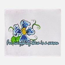 A time for every season - Des Throw Blanket