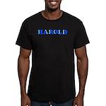 Harold Men's Fitted T-Shirt (dark)