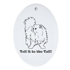 Tell the Tail Ornament (Oval)