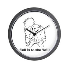 Tell the Tail Wall Clock