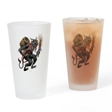 The Krampus Drinking Glass