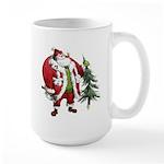 Lumberjack Santa Large Mug