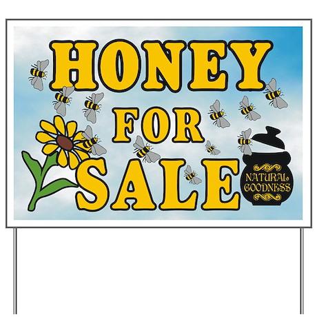 Honey Sale Yard Sign