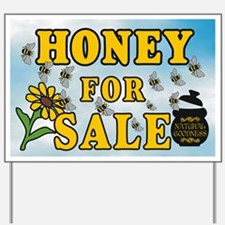 Honey Sale Yard Sign
