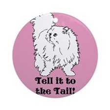 Tell the Tail Ornament (Round)
