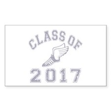 Class Of 2017 Track & Field Decal