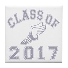 Class Of 2017 Track & Field Tile Coaster