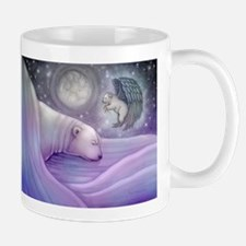 Polar bear and Angel Mug