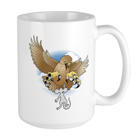 Last Great Act of Defiance - no text - Large Mug