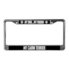 Cairn Terrier License Plate Frame