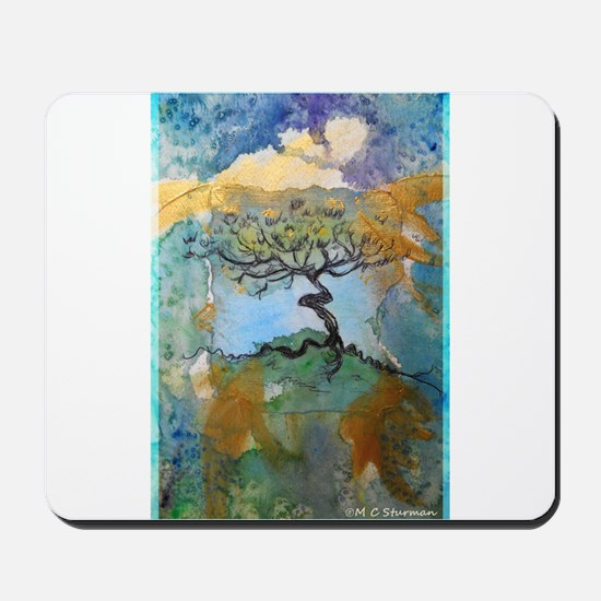 Tree, beautiful, art, Mousepad