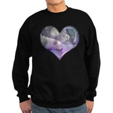 Polar bear and Angel Sweatshirt