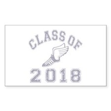 Class Of 2018 Track & Field Decal