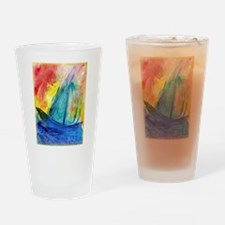 Sailboat, seascape Drinking Glass