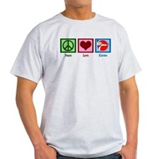 Peace Love Karate T-Shirt