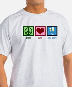 Peace Love New Years T-Shirt