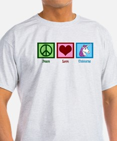 Peace Love Unicorns T-Shirt