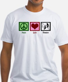 Peace Love Theatre Shirt