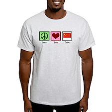 Peace Love China T-Shirt