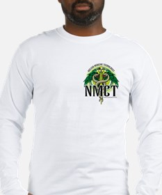 NMCT Green Front & Back Long Sleeve T-Shirt