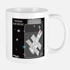 Preserving Space Heritage Small Small Mug