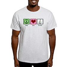 Peace Love Zombies T-Shirt