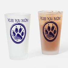 Klee Kai Mom Drinking Glass