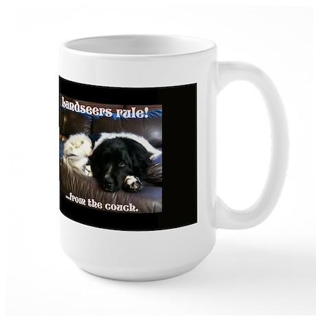 Landseers rule !!! Large Mug