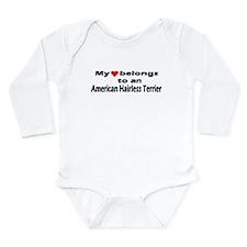 Unique Pet bumper Long Sleeve Infant Bodysuit