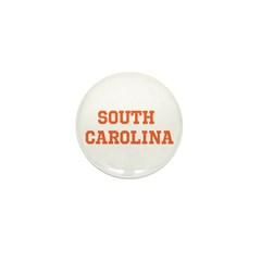 Orange South Carolina Mini Button (100 pack)