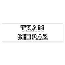 Team Shiraz Bumper Bumper Sticker