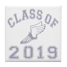 Class Of 2019 Track & Field Tile Coaster
