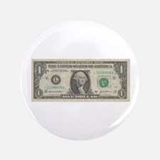 "Dollar Bill 3.5"" Button"