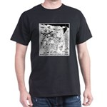 Archaeology On Mars Dark T-Shirt