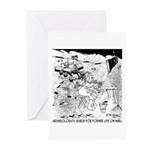 Archaeology On Mars Greeting Cards (Pk of 20)