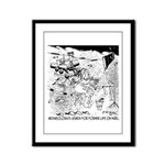 Archaeology On Mars Framed Panel Print