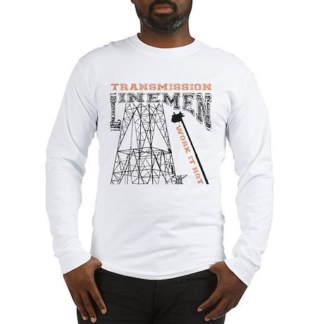 Transmission Lineman Long Sleeve T-Shirt