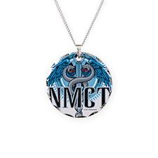 NMCT Caduceus Blue Necklace