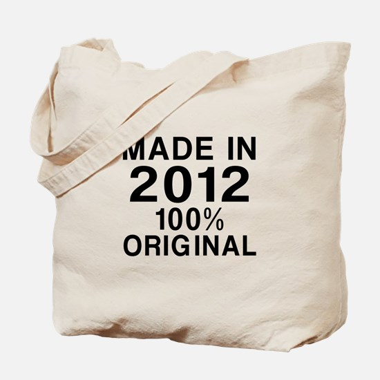Made In 2012 Tote Bag