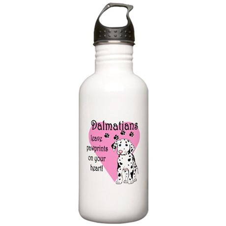 Dalmatian Pawprints Stainless Water Bottle 1.0L