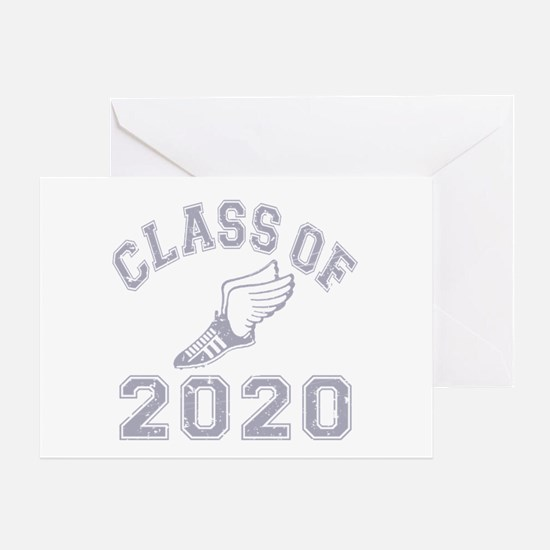 Class of 2020 Track & Field Greeting Card
