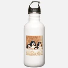 English Springer Pups 2 Water Bottle