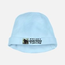 Labrador Retriever Collage baby hat