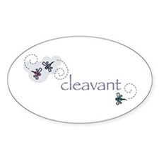 Cleavant Oval Decal