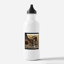 Cute Scottish deerhound Water Bottle