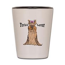 Yorkie Lover Shot Glass