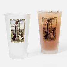 Scottie, Westie & Skye Terrie Drinking Glass