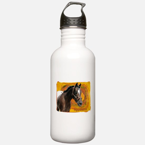 Appaloosa Gold Tones Water Bottle