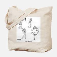 Atlas Explained Tote Bag