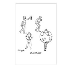 Atlas Explained Postcards (Package of 8)